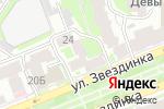 Схема проезда до компании Галерея цветов в Нижнем Новгороде