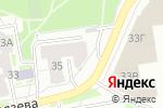 Схема проезда до компании Конопель в Нижнем Новгороде