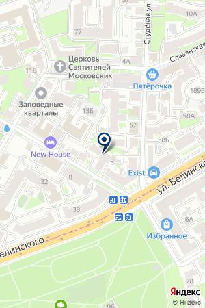 СУДОСТРОИТЕЛЬНЫЙ БАНК на карте Нижнего Новгорода