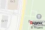 Схема проезда до компании Марьина Роща в Нижнем Новгороде