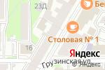 Схема проезда до компании Российский Красный Крест в Нижнем Новгороде