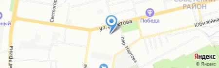 НижНовСтекло на карте Нижнего Новгорода