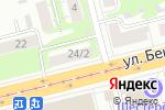 Схема проезда до компании Севан в Нижнем Новгороде