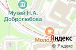 Схема проезда до компании Hotel joy в Нижнем Новгороде