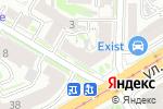 Схема проезда до компании Astra Flowers Shop в Нижнем Новгороде