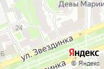 Схема проезда до компании Тамбурин в Нижнем Новгороде