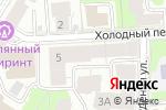 Схема проезда до компании Э`стети в Нижнем Новгороде