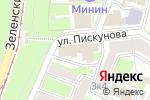 Схема проезда до компании Управление по организационной работе в Нижнем Новгороде
