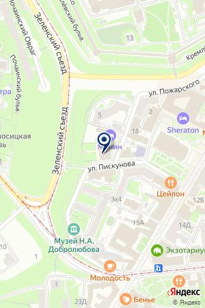 РЕМОНТНО-СТРОИТЕЛЬНАЯ ОРГАНИЗАЦИЯ СТРОЙБЭСТ на карте Нижнего Новгорода
