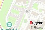 Схема проезда до компании Истоки в Нижнем Новгороде