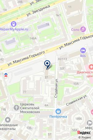 ТФ СТАНДАРТ-НН на карте Нижнего Новгорода