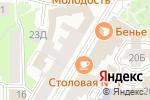 Схема проезда до компании Областная стоматологическая поликлиника в Нижнем Новгороде
