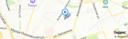 Gorky store на карте Нижнего Новгорода