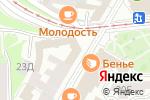 Схема проезда до компании BARONE в Нижнем Новгороде