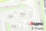 Схема проезда до компании Нижегородский Завод Металлоизделий в Нижнем Новгороде