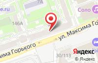 Схема проезда до компании Горсия в Нижнем Новгороде