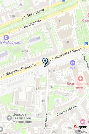 САЛОН ШТОР ИНТЕРЬЕРЫ БУДУЩЕГО на карте Нижнего Новгорода
