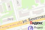 Схема проезда до компании Фантазер в Нижнем Новгороде