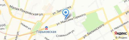 Эльгуна на карте Нижнего Новгорода