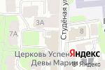 Схема проезда до компании АКБ Трансстройбанк в Нижнем Новгороде