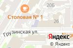 Схема проезда до компании НИЖГМА в Нижнем Новгороде
