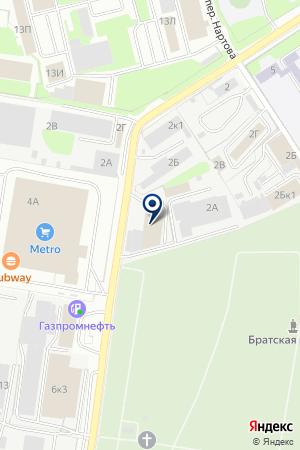 ПТФ НИЖПОЖСНАБ на карте Нижнего Новгорода