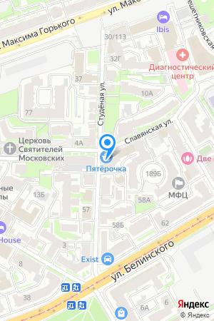 Дом на пересечении улиц Славянская и Студеная, ЖК Славянский квартал на Яндекс.Картах