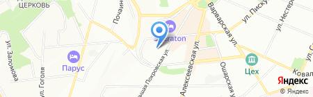 Банкомат Газпромбанк на карте Нижнего Новгорода