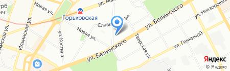Доктор-plus на карте Нижнего Новгорода