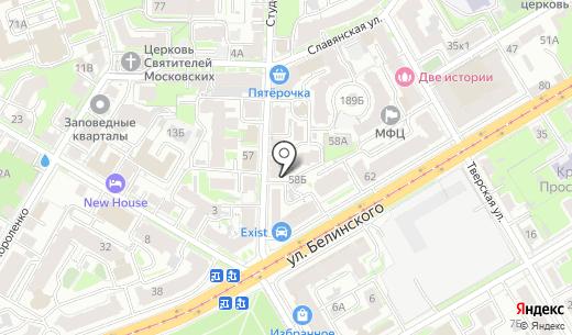 Доктор-plus. Схема проезда в Нижнем Новгороде