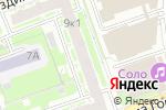 Схема проезда до компании Альфин в Нижнем Новгороде