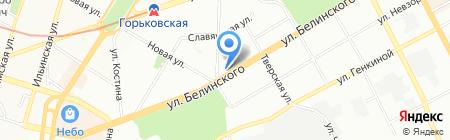 МонтажПрофи на карте Нижнего Новгорода