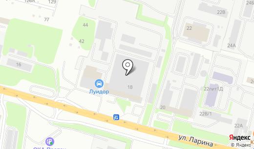 Банкомат Волго-Вятский банк Сбербанка России. Схема проезда в Нижнем Новгороде