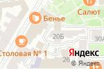 Схема проезда до компании Viven в Нижнем Новгороде