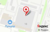 Схема проезда до компании Хомут в Нижнем Новгороде