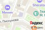 Схема проезда до компании Ваганты в Нижнем Новгороде