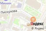Схема проезда до компании John Silver в Нижнем Новгороде