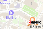 Схема проезда до компании Burlesque в Нижнем Новгороде