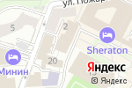 Схема проезда до компании Энвижн Груп в Нижнем Новгороде