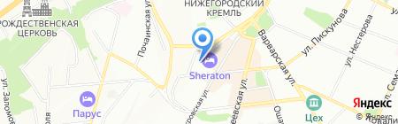 ИС Центр на карте Нижнего Новгорода