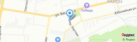 Банкомат Росгосстрах Банк на карте Нижнего Новгорода