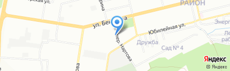 АСКОНА на карте Нижнего Новгорода