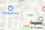 Схема проезда до компании На Славянской в Нижнем Новгороде