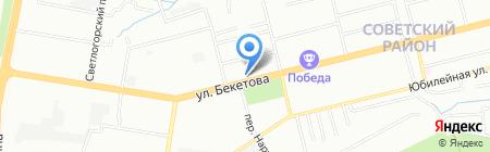 Дешевая мебель тут на карте Нижнего Новгорода