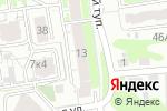 Схема проезда до компании Энергокомплект в Нижнем Новгороде