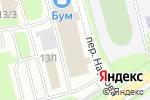 Схема проезда до компании АльманDoor в Нижнем Новгороде