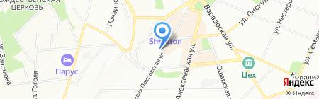 Алиби-Тур на карте Нижнего Новгорода