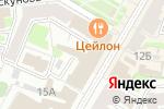 Схема проезда до компании Фаворит в Нижнем Новгороде