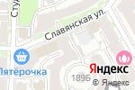 Схема проезда до компании Новстройтех-НН в Нижнем Новгороде