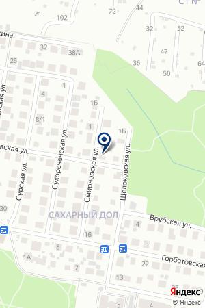 ПТФ СМИРНОВ Н. В. на карте Нижнего Новгорода